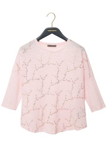 Vekem-Limited Edition Bluz Pembe